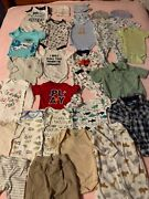 Baby Boy Lot Of 26 Pieces Size 3 To 6 Months Clothing