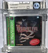 Sealed Wata 9.6 A+ Ps1 Resident Evil 2 [greatest Hits] Playstation One 1998