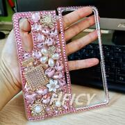 For Galaxy Z Fold 2 Case / Z Fold 3 5g Case Private Custom Sparkly Phone Cover