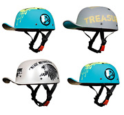 New Orz Motorcycle Glossy Baseball Cap Classic Retro Safety Helmets