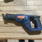 Ryobi Rjc181 18v Battery Powered Working Cordless Reciprocating Saw Tool Only