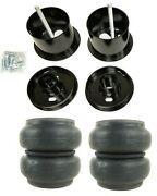 Front Air Ride Suspension Kit Slam Re7 Air Bags Mounting Cups For 1963-64 Cadi