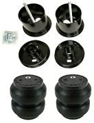 Front Air Ride Suspension W/slam Ss7 Air Bags And Mounting Cups For 61-62 Cadillac