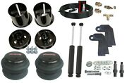 3/8 Front Air Ride Suspension Bags Brackets And Shock Relocate For 61-64 Cadillac
