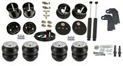 3/8 Front Rear Slam Re-7 Air Ride Suspension Bags And Shock Kit For 1963-64 Cadi