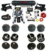 Complete Bolt On Air Ride Suspension Kit W/3 Preset Heights For 1963-64 Cadillac