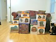 Dept 56 50 Items Lot Retired Pieces And Accessories See Photos Some Halloween