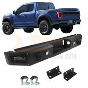 For 2015-2020 Ford F 150 Step Steel Rear Bumper Guard Protector +winch