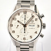 Tag Heuer Carrera Caliber 16 Chronograph Cv2a1acba0738 Mens Watches Stainle...
