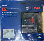 Bosch Gpl 5 R 5-point Self-leveling Alignment Laser - New
