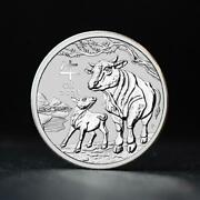 2021 1oz Year Of The Ox .9999 Silver Bullion Coin - The Perth Mint