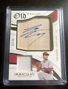 Shohei Ohtani Limited To 35 Pieces Immaculate Autograph Card Rookie