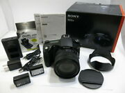 [24mm-600mm High Magnification Zoom With Spare Battery] Sony Dsc-rx10m4 Included
