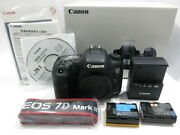 Canon Eos 7d Markc Body Strap Manual Unopened Canon [tube By757]