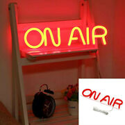 On Air Neon Sign On Off Recording Studio Led Light Door And Wall The Decor Lamp