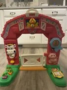 Rare Fisher Price Laugh And Learn Learning Farm