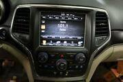 2014 Jeep Grand Cherokee Receiver 8.4 Touch Display Screen Climate Control Oem