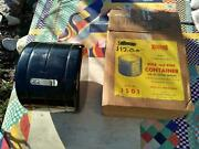 Nos Mib Vtg 50s Yankee 1501 Bulb Fuse Holder Accessory Can Tin Firewall Mounting
