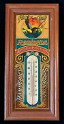 Remington First In The Field Thermometer Arms And Ammunition Advertising Working