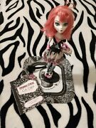 2011 Monster High 1st Wave C.a. Cupid Doll And Accessories
