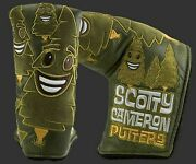 Brand New Scotty Cameron Tees N Trees Putter Cover
