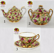 Royal Albert Old Country Roses Chintz Collection ---select Choice
