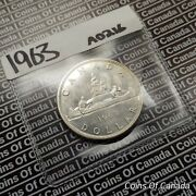 1963 Canada 1 Silver Dollar Coin - Sealed In Acid Free Package Coinsofcanada