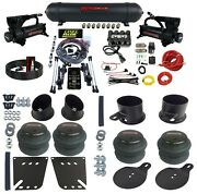 Complete Air Ride Suspension Kit W/3 Preset Heights Fits 1958-64 Chevy Impala