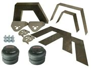 Airmaxxx Universal Rear Weld On 8 Frame Step Notch Kit 2500 Air Bags And Brackets