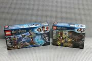 Lego Harry Potter Lot Of 2 Retired Sets Brand New Sealed Boxes 75945 + 75950