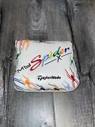 Rare Taylormade My Spider X Putter Rainbow Spider Mallet Headcover Cover