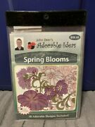 New Sealed John Deer's Adorable Ideas Embroidery Cd Spring Blooms