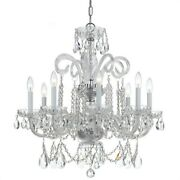 Crystorama Lighting 5008-ch-cl-s Crystal - Eight Light Chandelier In Classic