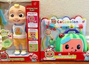 New Cocomelon Interactive Jj Doll And Musical Checkup Doctor Case- 2 Toy Bundle