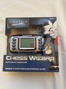 Einstein Lcd Chess Wizard By Excalibur Handheld Electronic Brain Game New