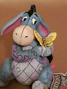 Disney Traditions Jim Shore Eeyore With Butterfly Mini Figurine 4056746 B New