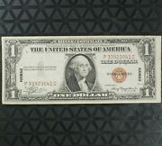 💎 1935a 1 Dollar Wwii Hawaii Silver Certificate Brown Seal Note Xf Paper Money