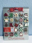 Hallmark Advent Calendar Countdown To Christmas Cookie Sheet Magnetic 2010 New