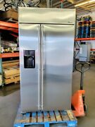 Ge Monogram 42 Stainless Refrigerator Discounted Best Value For A Built-in