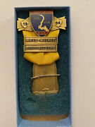 1984 North South Civil War Reenactment Rifle Musket Medal Confederate Union