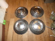 Factory Original 1965 1966 Ford Galaxie 500 Dog Dish Hubcaps