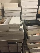 Lot Of 200000+ Baseball Cards Dadand039s Collection Pack Box Case