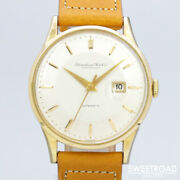 Old Inter Vintage Cal.8531 Date Used Automatic Mens Watch Authentic Working