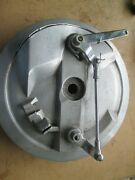 Vintage Triumph Bsa 8 Twin Leading Brake Plate And Shoes