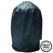 Dome Smoker Cover Durable Outdoor Cooking Accessories Covers Black