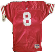 Nwt Authentic Sewn Wilson Steve Young San Francisco 49ers Jersey Men's 44 Medium