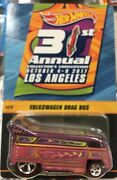 Hotwheels 31st Annual Collectors Convention Volkswagen Drag Bus