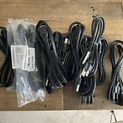 12 3-prong Iec Power Supply Universal Cable Cord Plug Computer Lcd Crt Monitor