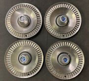 1964 Ford Galaxie Vintage Original Set Of 14 Inch Hubcaps Wheel Covers Rare