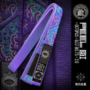 Peelgi Bjj Octopus Belt 2.0 Purple A3 Sold Out Discontinued Rare